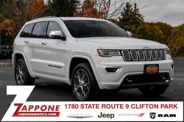 2020 Jeep Grand Cherokee Overland In Clifton Park Ny Jeep Grand Cherokee Zappone Chrysler Jeep Dodge Ram Clifton Park